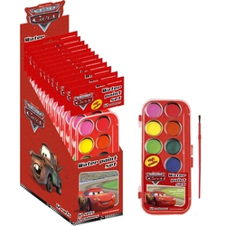 Set 12 culori acuarele Cars Disney