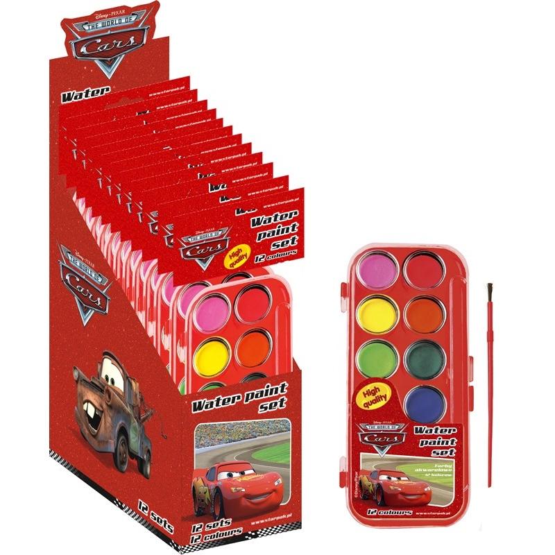Acuarele Cars 12 culori